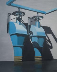 Sans Titre, issue de la série Ex Machina, 2015, 200x160cm